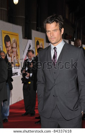 "Josh Duhamel at the world premiere of his new movie ""When in Rome"" at the El Capitan Theatre, Hollywood. January 27, 2010  Los Angeles, CA Picture: Paul Smith / Featureflash"