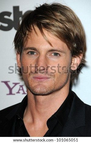 Josh Pence at the 14th Annual Hollywood Awards Gala, Beverly Hilton Hotel, Beverly Hills, CA. 10-25-10
