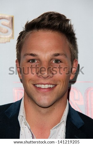 "Joshua Buscher at the ""Priscilla Queen of the Desert"" Los Angeles Premiere, Pantages, Hollywood, CA 05-29-13"