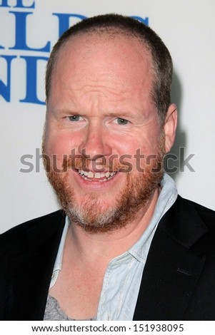 "Joss Whedon at ""The World's End"" Los Angeles Premiere, Cinerama Dome, Hollywood, CA 08-21-13"