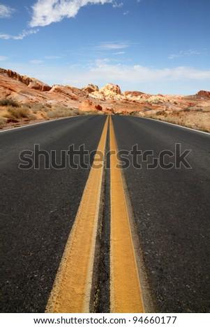 Journey ahead - stock photo