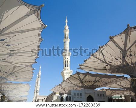 Journey to Hajj in Mecca 2013 - stock photo