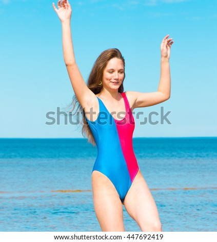 Joy of Holidays Vacation Happiness  - stock photo