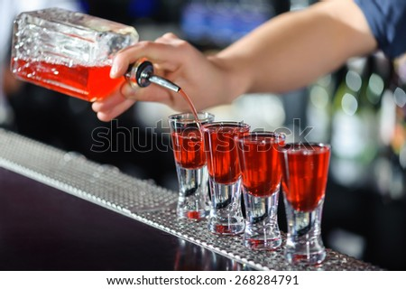 Alcoholic Drink Flatlay