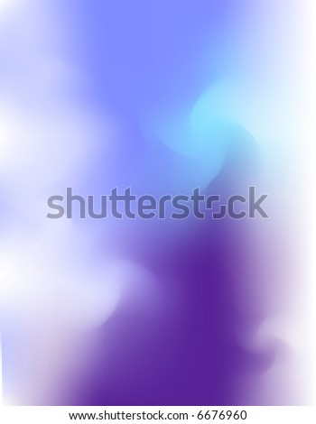 JPEG Blue Cloud, Fog Background - stock photo