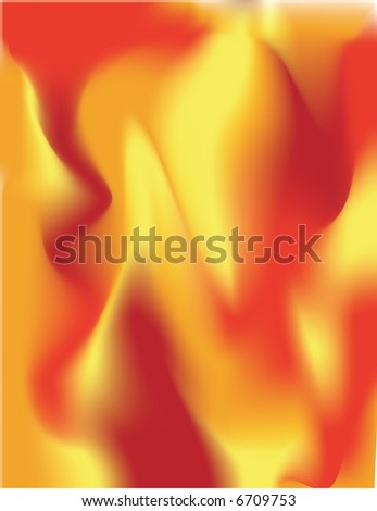 JPEG Fiery Fire Background - stock photo