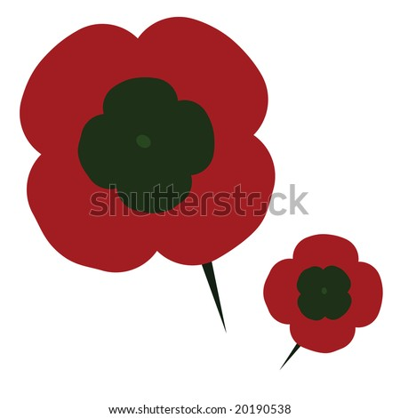 Jpeg illustration plastic poppy flower pin stock illustration jpeg illustration of a plastic poppy flower with a pin traditionally used on remembrance day mightylinksfo