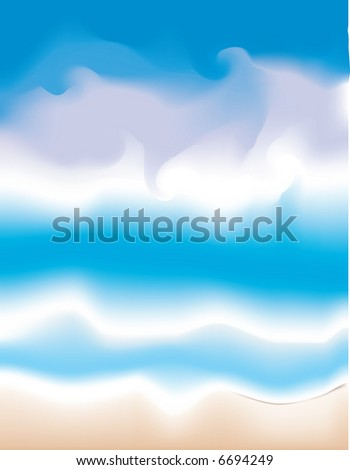 JPEG,Sea and Sky Abstract Background - stock photo