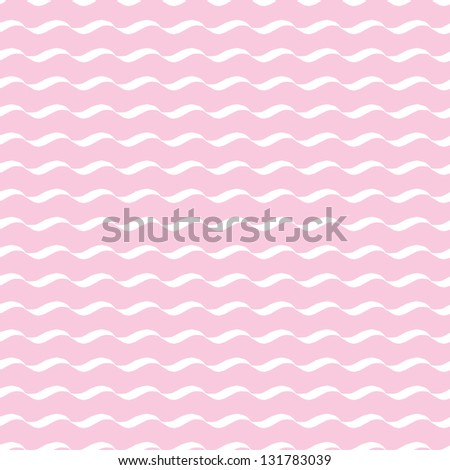 JPEG seamless background with wavy stripes. Great for Greeting Cards, gift wrap, surface textures. See my folio for matching patterns in this set and for vector version - set of 4 seamless patterns. - stock photo