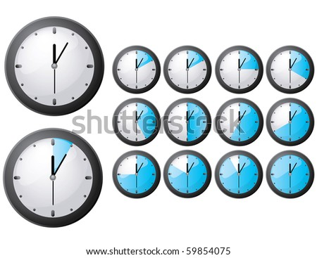 JPG Timer icon - stock photo