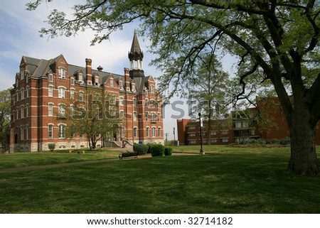 Jubilee Hall at Fisk University in Nashville Tennessee - stock photo