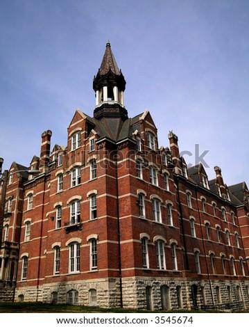 Jubilee Hall Fisk University 2 - stock photo