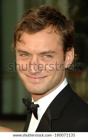 Jude Law at Metropolitan Opera Opening Night Gala of Madama Butterfly, Metropolitan Opera House at Lincoln Center, New York, NY, September 25, 2006