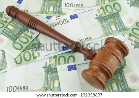 stock-photo-judge-gavel-and-euro-banknot