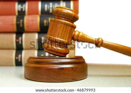judges court gavel stacked law books stock photo royalty free