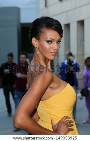 "Judi Shekoni at the ""I Give It A Year"" Los Angeles Special Screening, Arclight, Hollywood, CA 08-01-13"