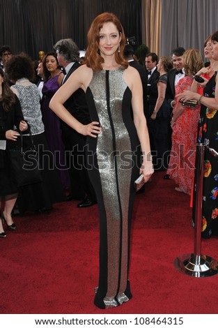 Judy Greer at the 84th Annual Academy Awards at the Hollywood & Highland Theatre, Hollywood. February 26, 2012  Los Angeles, CA Picture: Paul Smith / Featureflash