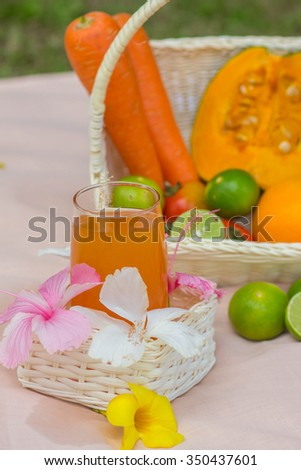 Juice. - stock photo