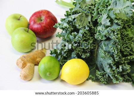 juicing ingredients - stock photo