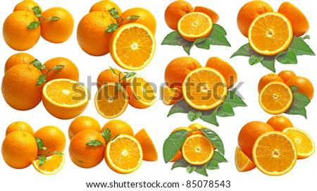 Juicy and sweet orange - stock photo