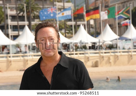 "Julian Lennon at photocall at the 60th Annual International Film Festival de Cannes to promote his movie ""Whaledreamers."" May 23, 2007  Cannes, France.  2007 Paul Smith / Featureflash - stock photo"