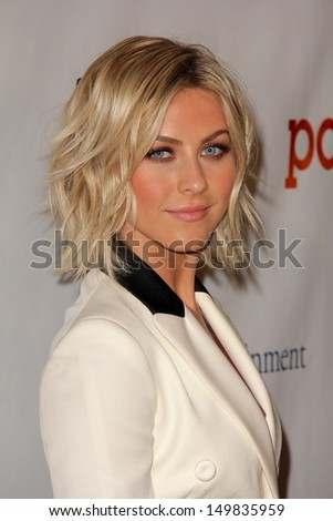 "Julianne Hough at the DirecTV Premiere of ""Paradise,"" Chinese 6, Hollywood, CA 08-06-13 - stock photo"