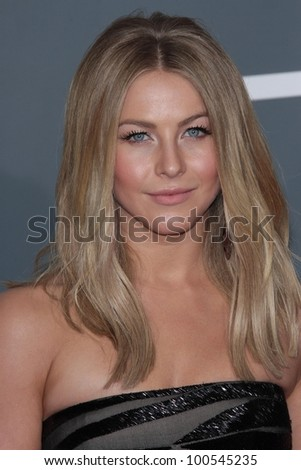 Julianne Hough at the 54th Annual Grammy Awards, Staples Center, Los Angeles, CA 02-12-12