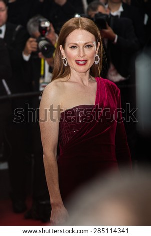 Julianne Moore attends the 'Mad Max : Fury Road' Premiere during the 68th annual Cannes Film Festival on May 14, 2015 in Cannes, France.
