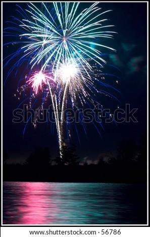 July Thunder - stock photo