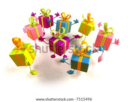 Jumping gifts