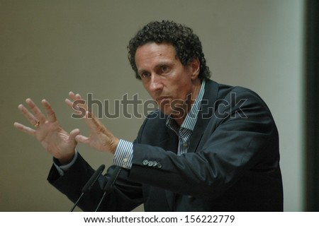 JUNE 29, 2007 - BERLIN: Julian Nida-Ruemelin at a discussion panel about integration policies in the Willy-Brandt-Haus, Berlin.