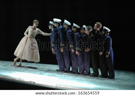 "JUNE 17, 2006 - BERLIN: scene from the opera production""Die lustige Witwe"" (The Funny Widow), Staatsoper Unter den Linden, Berlin-Mitte."