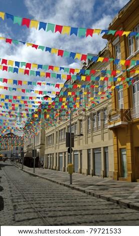 June celebration in Salvador - Bahia - Brazil - stock photo