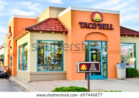 JUNE 11 2017 HINCKLEY MINNESOTA Taco Stock Photo Royalty Free