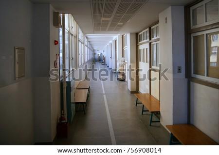Junior High School Campus Of Japan