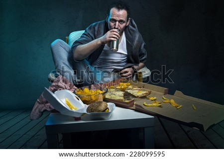 Junk Food - stock photo
