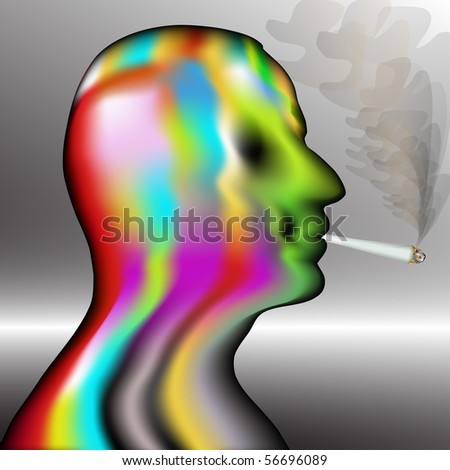 Junkie - stock photo