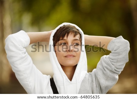 Just a perfect day - stock photo