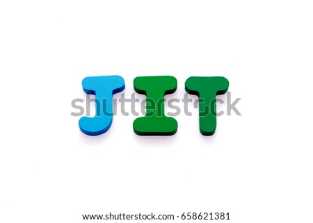 Justin time wooden letters spelling word jit stock photo royalty just in time wooden letters spelling the word jit isolate on white background ccuart Gallery