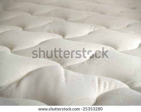 just mattress quilting with white jacquard
