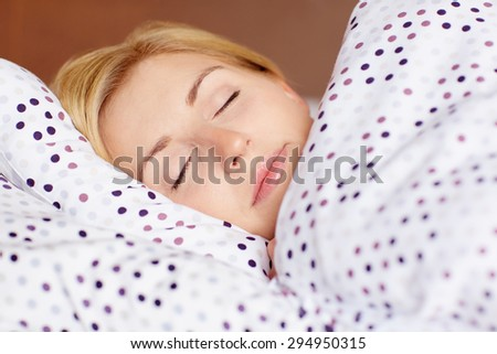 Just 5 more minutes... - stock photo