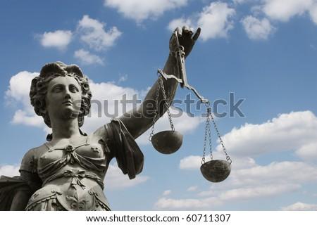 justice - justizia - stock photo