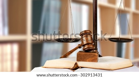 Justice, law, legal. - stock photo