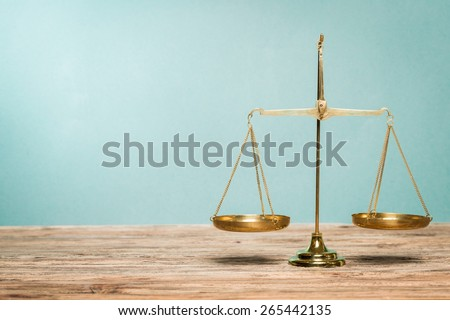 Justice, scale, lawyer. - stock photo
