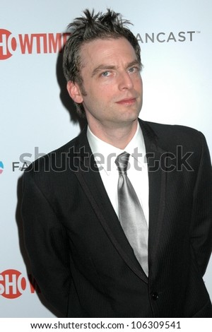 Justin Kirk  at the Showtime Golden Globe Awards After Party. The Peninsula Hotel, Beverly Hills, CA. 01-11-09