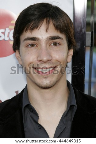 Justin Long at the World premiere of 'The Break-Up' held at the Mann Village Theatre in Westwood,  USA on May 22, 2006. - stock photo