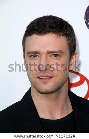 Justin Timberlake at the 2011 Environmental Media Awards, Warner Bros. Studios, Burbank, CA 10-15-11 - stock photo