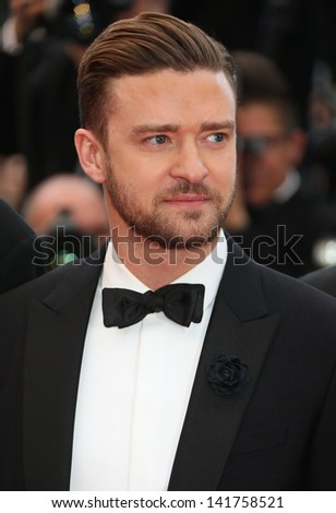 Justin Timberlake at the 66th Cannes Film Festival - Inside Llewyn Davis Premiere, Cannes, France. 19/05/2013 - stock photo