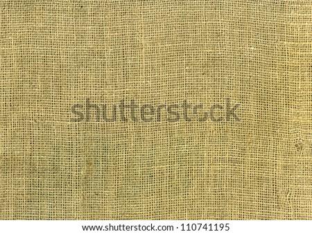 juta sack background, brown burlap cloth - stock photo