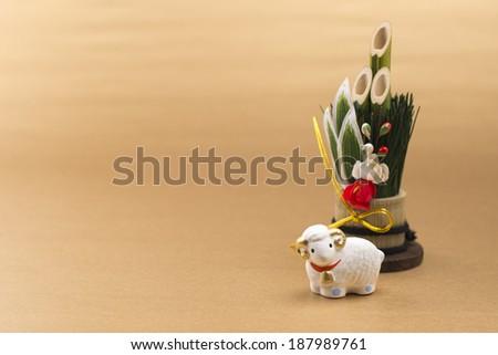 KADOMATSU, japanese new year decoration - stock photo